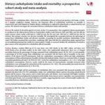 糖質制限に関するLancetの論文