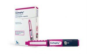 デグルデクとリラグルチドの合剤、xultophy