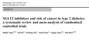 SGLT2と胃癌