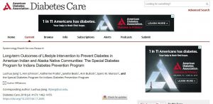 The Special Diabetes Program for Indians Diabetes Prevention Program