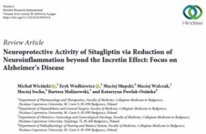シタグリプチンがアルツハイマー病モデルマウスに有効
