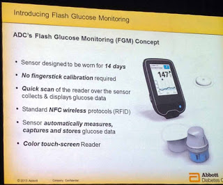 アボット社のFlash Glucose Monitoring