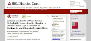 トルリシティの論文(Diabetes Care 2015年6月号)